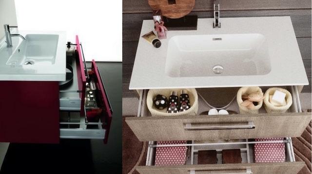 Arredo bagno trend mobile lavabo sospeso